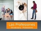 Las Profesiones Through Pictures - PowerPoint