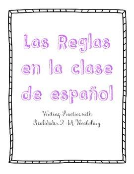 Las Reglas en la clase de Español - Realidades 2 : 1A practice