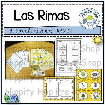 Las Rimas-A Spanish Rhyming Activtiy