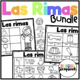 Las Rimas BUNDLE (Rhyming No Prep in Spanish)