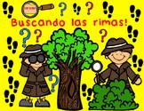 Las Rimas:  Spanish Rhymes cut and paste worksheets