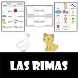 Las Rimas (Spanish Rhyming words)