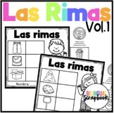 Las Rimas Vol. 1 (Rhyming No Prep in Spanish)