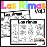 Las Rimas Vol. 2 (Rhyming No Prep in Spanish)
