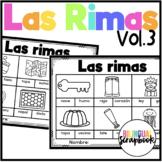 Las Rimas Vol. 3 (Rhyming No Prep in Spanish)