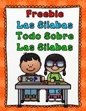 Las Silabas:  Freebie Las Silabas Iniciales, Mediales, y Finales Sampler