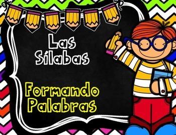 Las Silabas:  Hojas De Trabajo