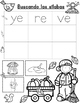 Las Silabas Iniciales de Otono:  Spanish Initial Syllables Fall Theme Activities