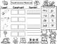 Las Silabas:  Spanish Syllables Building Words