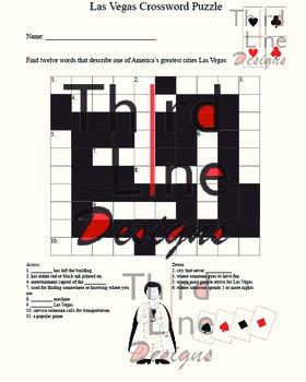 Las Vegas Crossword Puzzle