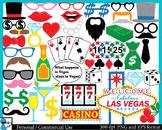 Las Vegas Props -  Clip Art Digital Files Personal Commercial Use cod198