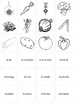 Las Verduras - Food: Vegetables in Spanish - Memory Game