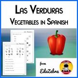 Las Verduras - Food: Vegetables in Spanish - Activity Pack