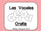 Las Vocales A, E, I, O, U (Freebie)