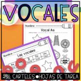 Las Vocales Actividades en español