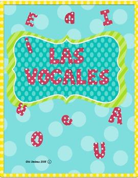 Las Vocales Activity