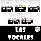 Las Vocales Bundle (Letra A, E, I, O, U)