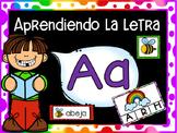 Las Vocales - LETRA A