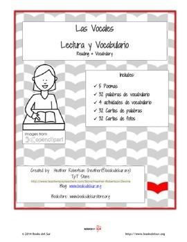 Las Vocales Lectura & Vocabulario