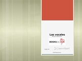 Las Vocales Poems, Vocabulary & Conversations