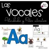 Las Vocales - Posters y Actividades Interactivas