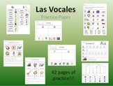 Las Vocales - Spanish Vowels Practice Sheets
