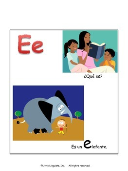 Las Vocales- Un Librito/The Vowels in Spanish- A Mini-Book