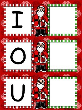 Las Vocales de Navidad