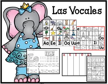 Las Vocales en Español