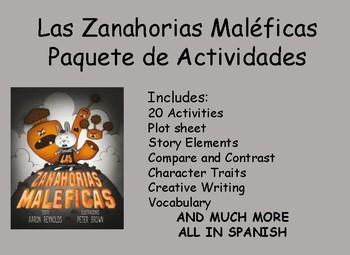 Las Zanahorias Maléficas Paquete de Actividades/Creepy Carrots Activity Packet