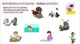Las actividades - Leisure activities - Los pasatiempos - I