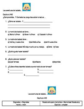 Las aventuras de Isabela - Chapter 1/Capítulo 1 Ana Ozores
