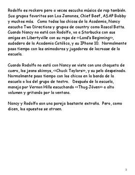 Las aventuras de Nancy y Rodolfo (FVR e-book & audio) (Descubre 3, Chapter 1)