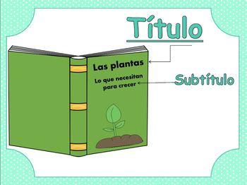 Las caracteristicas de textos informativos / Non-Fiction Features in Spanish