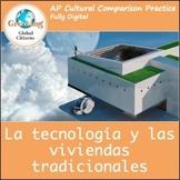 Las casas y la tecnología / Houses, geography and technology