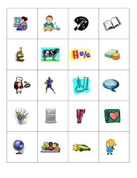 Las clases - small flashcards