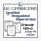 Las comparaciones Comparisons Spanish