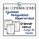 Las comparaciones Comparisons Spanish
