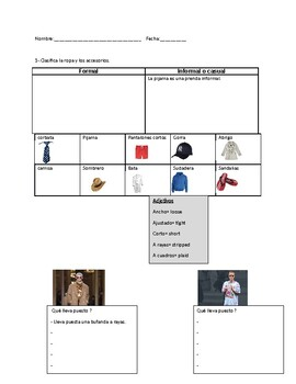 Las compras 6 / Shopping topics in Spanish