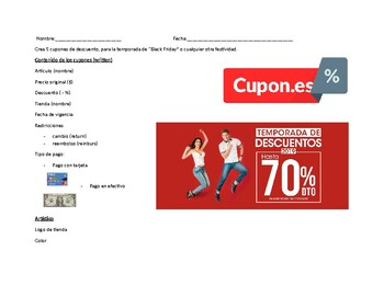 Las compras 9 / Shopping topics in Spanish