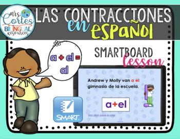 Las contracciones en español