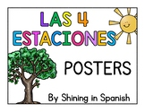 Las cuatro estaciones posters Spanish/English