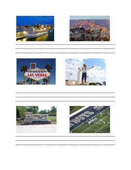 Las destinaciones - Comparing places