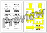 Las direcciones - match up cards