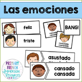 Las emociones - Spanish emotions - flashcards and games