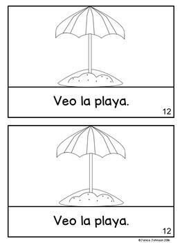 Las estaciones ~ Spanish Seasons Simple Reader {en español}