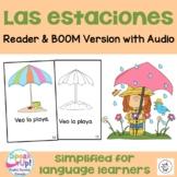 Las estaciones ~ Spanish Seasons Reader {en español} + BOOM™ Version with Audio