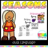 Las estaciones del año /Season ( Spanish and English)