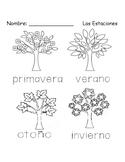 Las estaciones / the seasons