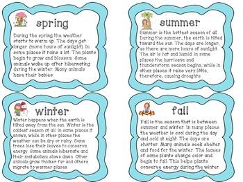 Las estaciones y el clima (The Seasons and the Weather)